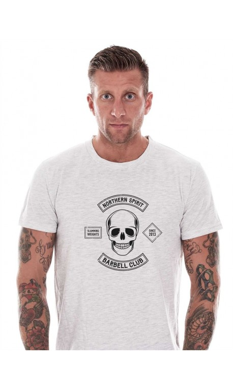 T-shirt crossfit homme northern spirit - White Barbell Club