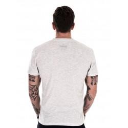 T-shirt Homme Blanc Barbell Club pour Athlète - NORTHERN SPIRIT