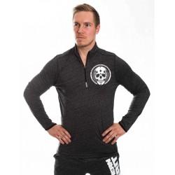 Sweat Homme Gris Skull pour CrossFiteur - NORTHERN SPIRIT