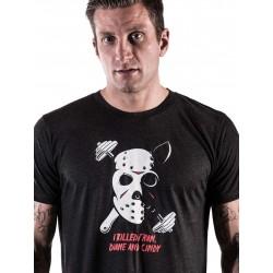 T-shirt Homme Noir Jason pour Athlète - NORTHERN SPIRIT