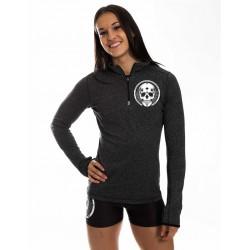 Sweat CrossFit Femme Léger Gris Skull Northern Spirit