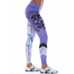 Legging Femme Violet Graphic NORTHERN SPIRIT idéal CrossFiteuse