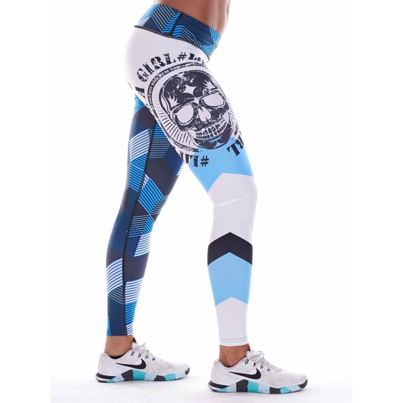 Legging entraînement Femme NORTHERN SPIRIT Bleu Graphic