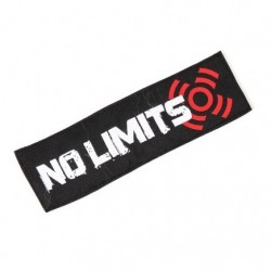 Patch broderie velcro NO LIMIT pour athlète by XOOM PROJECT