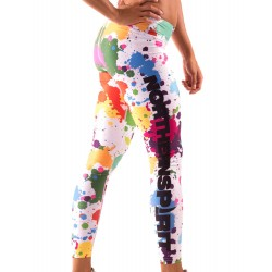 Legging Femme Multicolor Paintball pour CrossFiteuse by NORTHERN SPIRIT