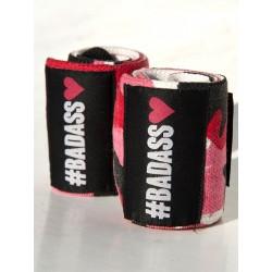 Bandes de Poignets Crossfit - Camo Pink