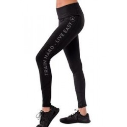 Legging Femme Noir Zero Two Gravity pour CrossFiteuse - NASTY