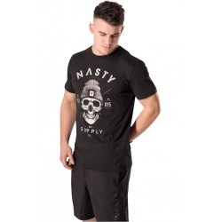 T-Shirt Homme Noir Skull pour CrossFiteur - NASTY