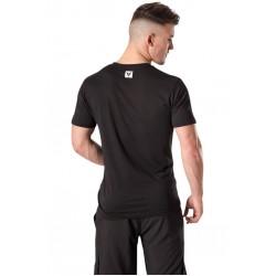 T-Shirt Homme Noir Skull pour Athlète - NASTY