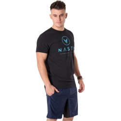 T-Shirt Homme Noir Pro Staked pour Athlète - NASTY