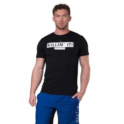 T-Shirt Homme Noir Killin'it pour CrossFiteur - NASTY