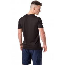 T-Shirt Homme Noir Corp pour Athlète - NASTY