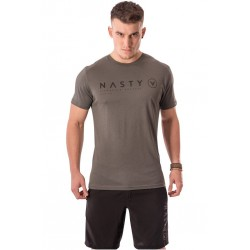 T-Shirt Homme Gris Corporate pour CrossFiteur - NASTY