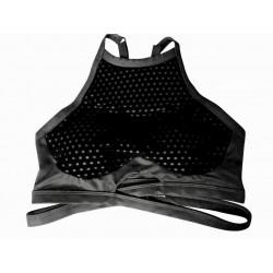 Training bra black THE LULU for women - THE CHESTEE BRA