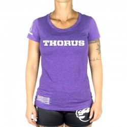 Training T-shirt purple CLASSIC for women - THORUS WEAR
