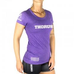 T-shirt Femme Violet Classic Thorus pour Athlète by THORUS