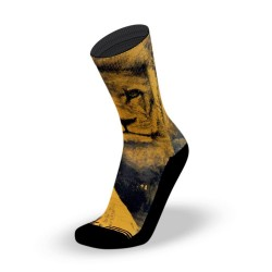 Orange workout Socks JUNGLE KING – LITHE APPAREL
