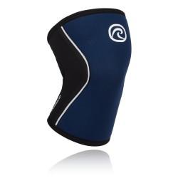 5 mm pair of Knee Sleeves Blue - REHBAND
