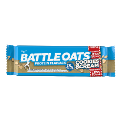 Barre protéinée Cookies & Cream pour CrossFiteur by BATTLE OATS