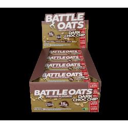 pack de 12 barres protéinées Dark Choc Chip - BATTLE OATS