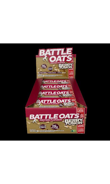 pack de 12 barres protéinées Berry Fusion - BATTLE OATS