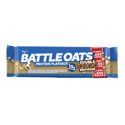 Protein bars double choc brownie - BATTLE OATS