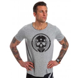 T shirt NORTHERN SPIRIT gris clair crossfit