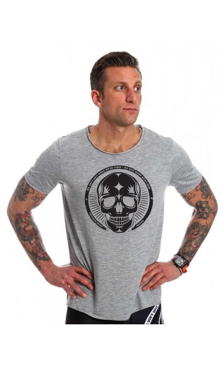 T shirt NORTHERN SPIRIT gris clair crossfit