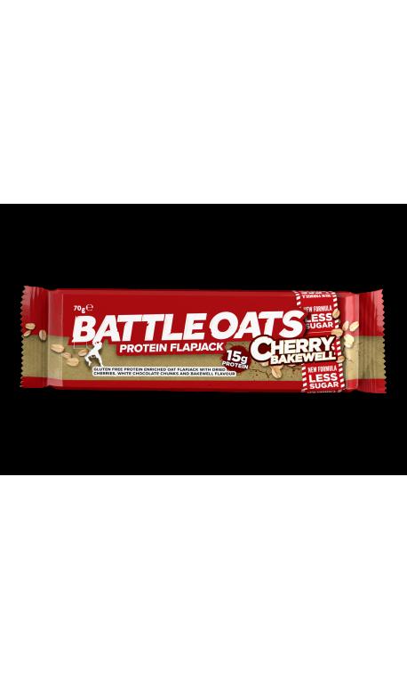 Barre protéinée Cherry Bakewell - BATLLE OATS