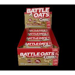 pack de 12 barres protéinées Cherry Bakewell - BATTLE OATS