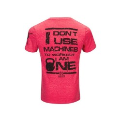 TSHIRT pour crossfiteur ROUGE XOOM I DONT USE MACHINE