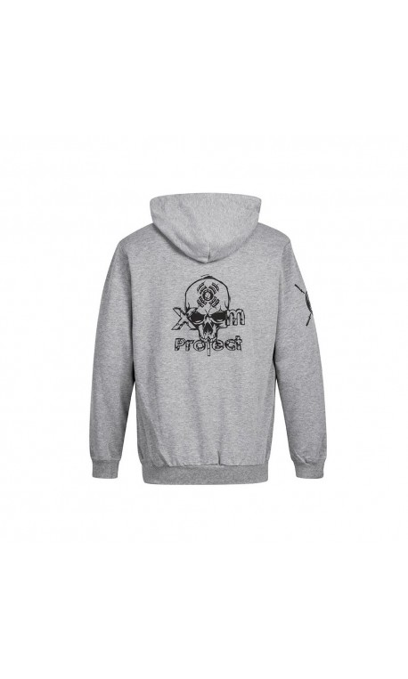 Sweat Homme Gris Skull logo pour Athlète by XOOM