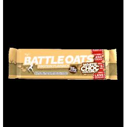 Barre protéinée White choc Coconut pour Athlète by BATTLE OATS
