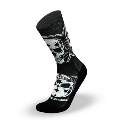 Chaussettes Noires Badass pour CrossFiteur by LITHE