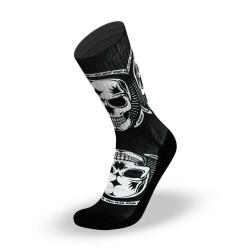 Chaussettes Noires Badass pour Athlète  by LITHE