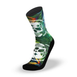 Multicolor workout Socks BADASS TROPICAL – LITHE APPAREL