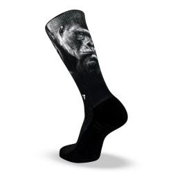 Chaussettes Silver Black pour Athlète by LITHE APPAREL
