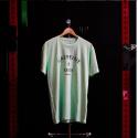 T-shirt Homme Vert menthe pour sportif - CAFFEINE & KILOS
