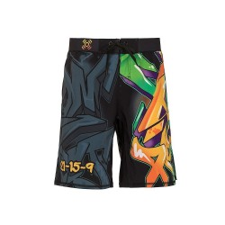 Training short multicolor GRAFFITI for men - XOOM PROJECT