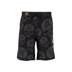 Short Homme Noir Skulls XOOM PROJECT