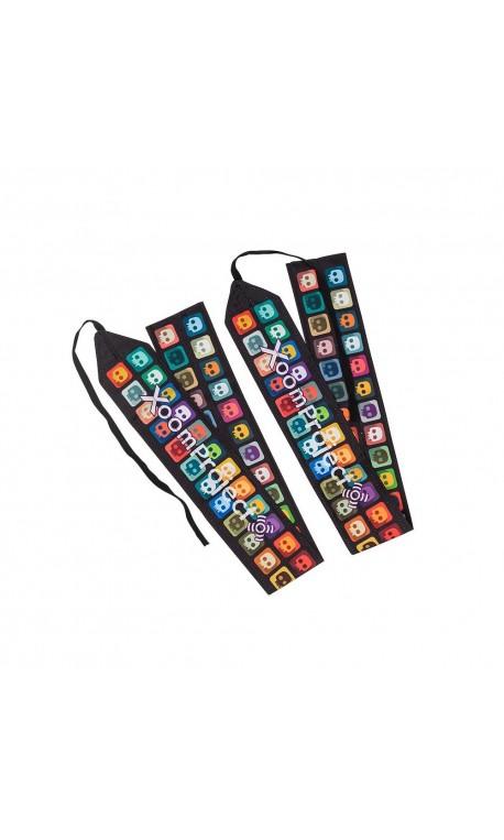 Bandes de poignets - Wrips Wraps Multicolor Skully pour Athlète by XOOM