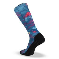 Chaussettes Multicolor Flamingo pour CrossFiteur by LITHE