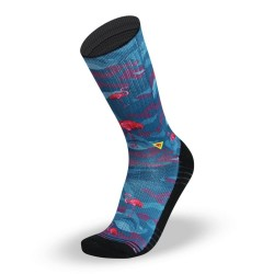 Multicolor workout Socks FLAMINGO – LITHE APPAREL