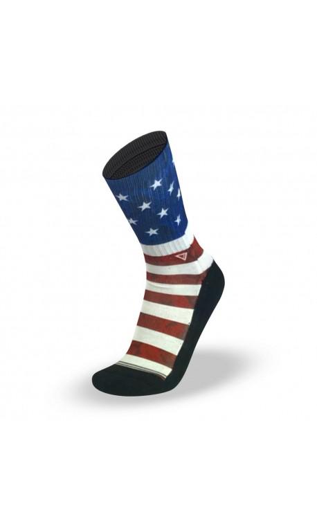 Chaussettes USA pour CrossFiteur by LITHE