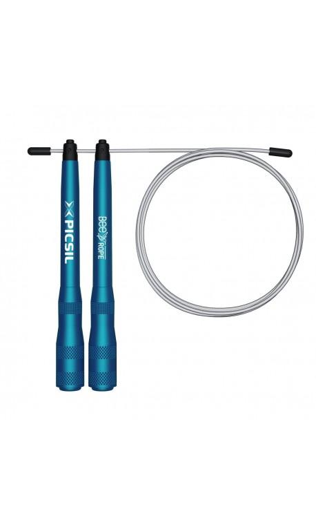Corde à Sauter sport bleue