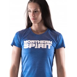 Boutique T-Shirt Bleu Femme Crossfit - White NS