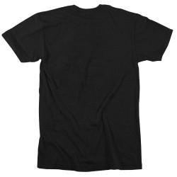 T-Shirt Homme Noir The AMERICANA pour Athlète by ROKFIT
