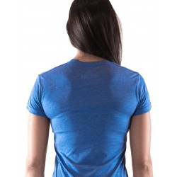 T-Shirt Femme Bleu NS pour CrossFiteuse - NORTHERN SPIRIT