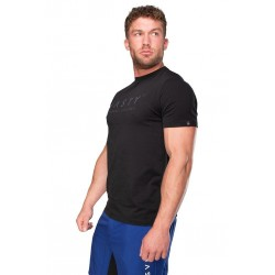 Tee-shirt homme Noir TRAIN HARD pour CrossFiteur by NASTY