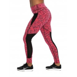 Training legging heather pink for women - NORTHERN SPIRIT